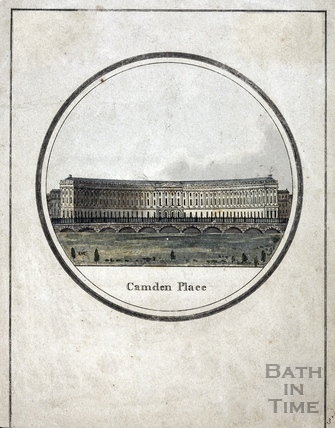 Camden Place (Crescent), Bath 1794