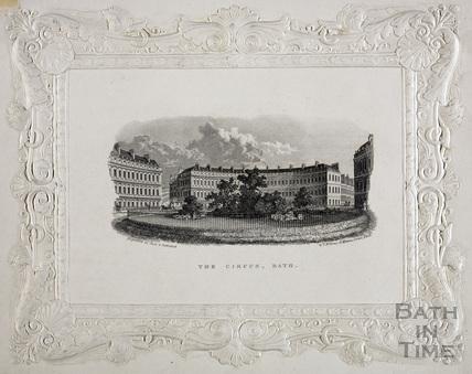The Circus, Bath c.1846