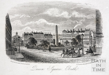 Queen Square, Bath c.1860
