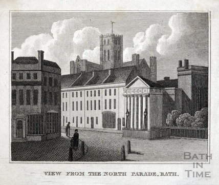 View from the North Parade, Bath c.1820