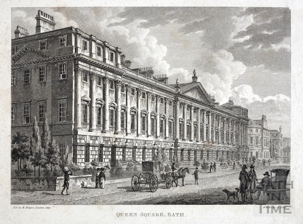 Queen Square, Bath 1819