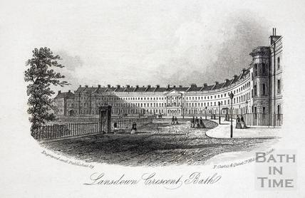 Lansdown Crescent, Bath c.1860