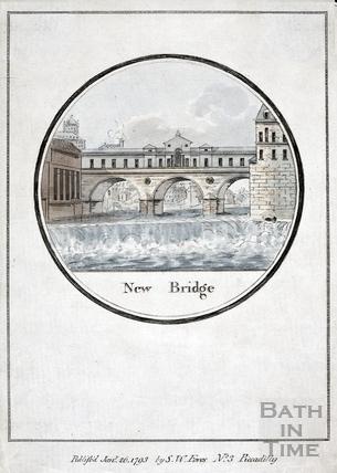 New Bridge (Pulteney Bridge), Bath 1793