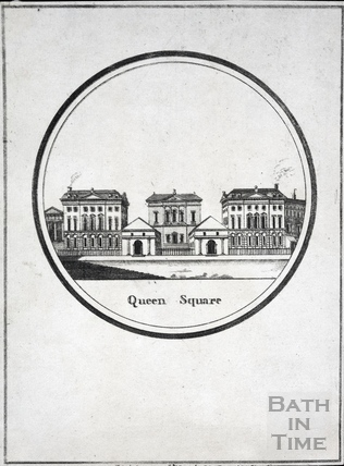 Queen Square, Bath 1794