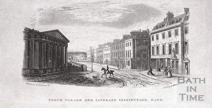 North Parade and Literary Institution, Bath c.1837