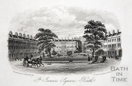 St James's Square, Bath c.1860