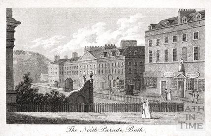 North Parade, Bath 1803