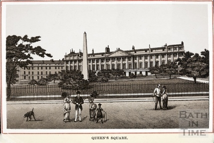 Queen Square, Bath 1861