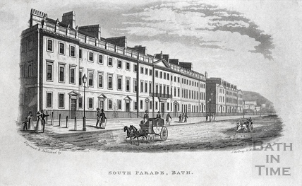 South Parade, Bath c.1845