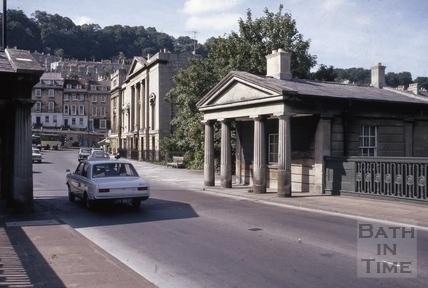 Cleveland Bridge toll houses, Bath 1971