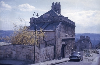 Gay's House, Gay's Hill, Bath 1964