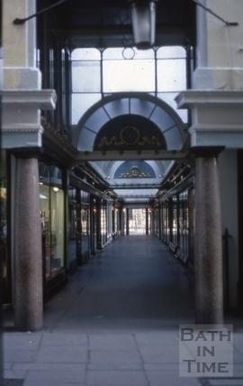 The Corridor, Bath 1969