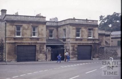 14, Crescent Lane, Bath 1972