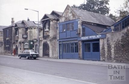 16 to 18, Crescent Lane, Bath 1972
