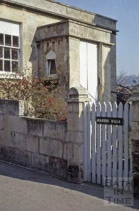 Mandd's Villa, Dafford Street, Larkhall, Bath 1973