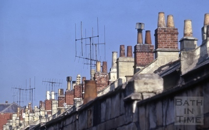 Chimneys, Dafford Street, Larkhall, Bath 1973