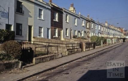 Dafford Street, Larkhall, Bath 1973