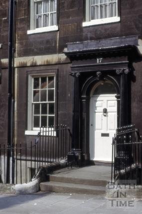 17, Gay Street, Bath 1965