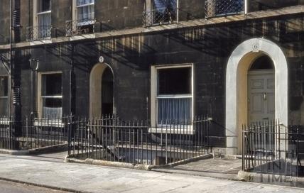 6 & 7, Darlington Street, Bath 1963