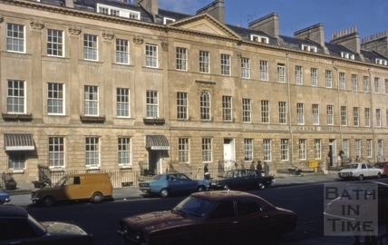 11 to 15, Great Pulteney Street, Bath 1977