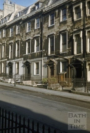 22 to 24, Gay Street, Bath 1956