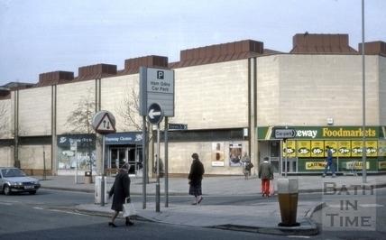 Dorchester Street, Bath 1987