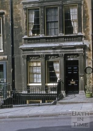8, Gay Street, Bath 1953