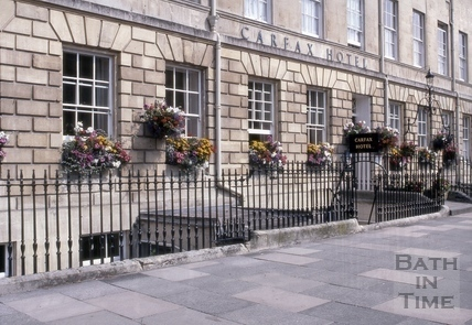 Carfax Hotel, 13 to 16, Great Pulteney Street, Bath 1982