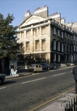 Queen's Parade Place and 2 to 4, Gay Street, Bath 1973