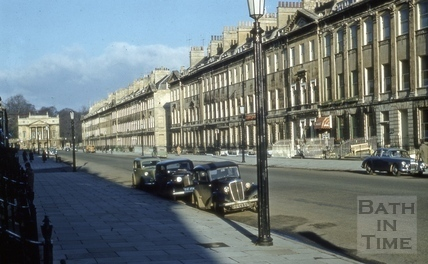 Great Pulteney Street, Bath 1962