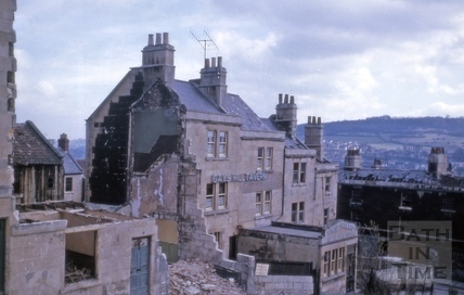 1 to 6, Gay's Buildings (including the Gay's Hill Tavern), Gay's Hill, Bath 1964