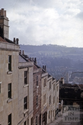 1 to 11, Gay's Buildings, Gay's Hill, Bath 1964