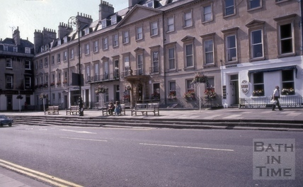Edgar Buildings, Bath 1981