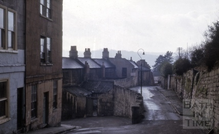 12 & 13, Gay's Buildings, Gay's Hill and Upper Hedgemead Road, Bath 1964