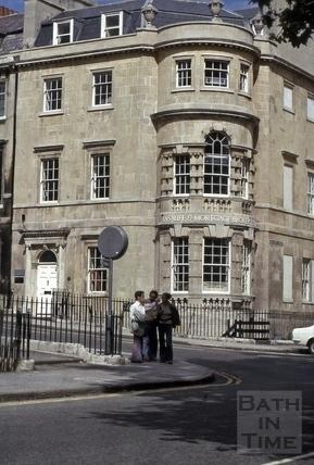 41, Gay Street, Bath 1974