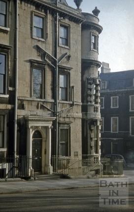 41, Gay Street, Bath 1956
