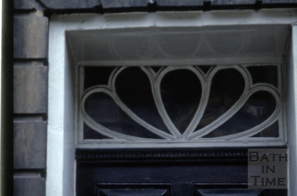 Fanlight, 36, Great Pulteney Street, Bath 1973