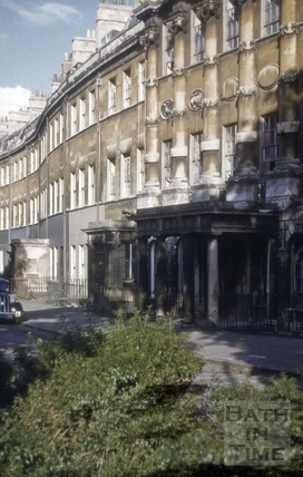 Grosvenor Place, Bath 1954