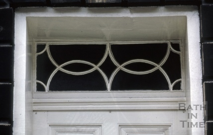 Fanlight, 23, Great Pulteney Street, Bath 1973
