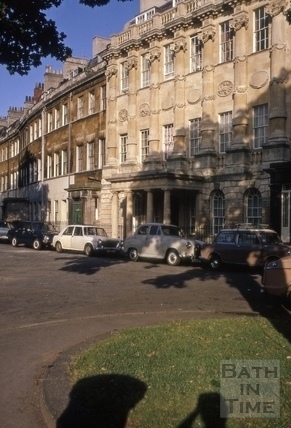 Grosvenor Place, Bath 1971