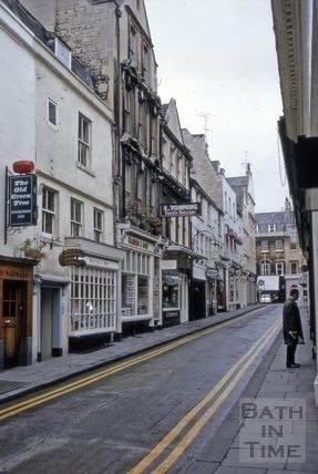 Green Street, Bath 1969