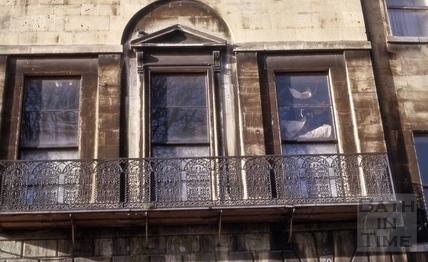 Balcony, 30, Green Park, Bath 1964
