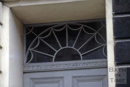 Fanlight, 27, Great Pulteney Street, Bath 1973
