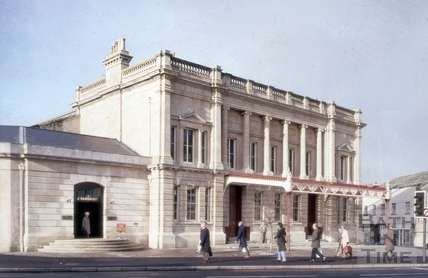 Green Park Station, Bath 1982