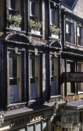 Gabled house, 14, Green Street, Bath 1963