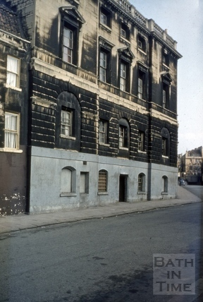 Old prison, 16, Grove Street, Bath 1967