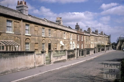 Hampton Row, Bathwick, Bath 1967