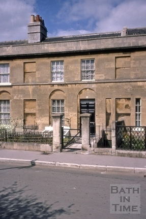 4, Hampton Row, Bathwick, Bath 1967