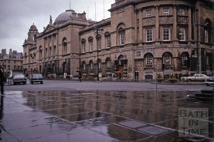 Guildhall, High Street, Bath 1975