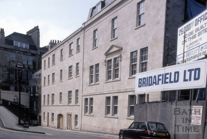 New buildings, 24 to 27, Grove Street, Bath 1982